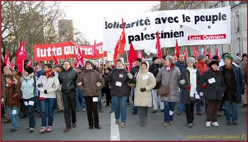 24.01.0¨Paris Manifestation Palestine Force Ouvriere