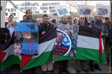 24.01.09Paris Manifestation Palestine