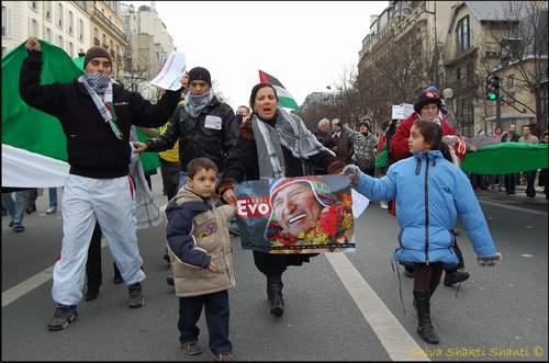 24.01.09Paris - Manifestation palestine