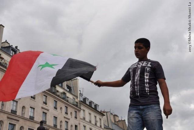31Aout2013 PARIS de St-Michel au Pantheon NON à LA GUERRE EN SYR