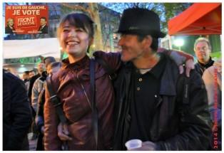 27.03.2014 MUNICIPALES PARIS 20e - Le Fdg avec Danielle Simonnet