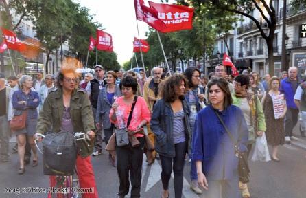 PARIS - Le Peuple de Gauche dans la rue avec les migrants